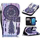 S4 Case,Galaxy S4 Case, Welity Vintage Dream Catcher [ Wristlet ][ Kickstand ] PU Leather Clutch Pouch Wallet...
