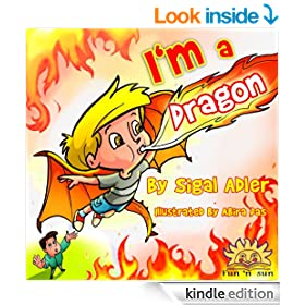 Children Books:I'M A DRAGON:(Early reader)Children's Bedtime eBook fiction story(Values book)Illustrated(Beginner reader short story)sleep book(kid eBook)rhymes(Early ... story Bedtime stories books collection 4)