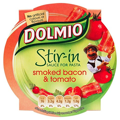 Dolmio Stir-in Sauce - Smoked Bacon & Tomato (150g) - Pack of 6 (Tomato Bacon Jam compare prices)