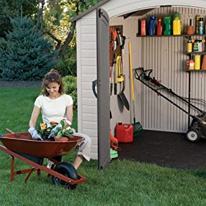 Lifetime 6418 8-by-5-foot Outdoor Storage Shed by Lifetime Products