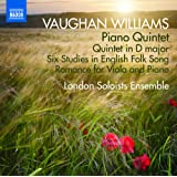 Vaughan Williams: Piano Quintet [London Soloists Ensemble] [Naxos: 8.573191]