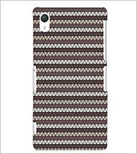 PrintDhaba Pattern D-5902 Back Case Cover for SONY XPERIA Z2 (Multi-Coloured)