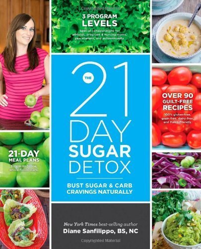 The 21-Day Sugar Detox: Bust Sugar & Carb Cravings Naturally By Diane Sanfilippo (2013) Paperback