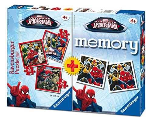 Ultimate Spider-Man - Multipack Memory + 3 puzzle (Ravensburger 07359 7)