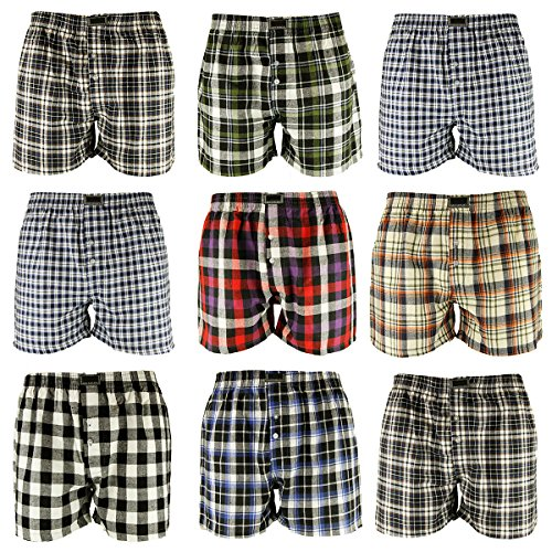 10er pack herren boxershorts webboxershorts webboxer karo. Black Bedroom Furniture Sets. Home Design Ideas