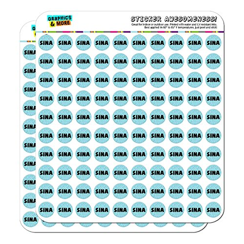 sina-name-scrapbooking-crafting-stickers-blue-speckles-200-05-stickers