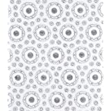 Haemoglobin dress fabric, by Barlow & Jones Ltd (Print On Demand)
