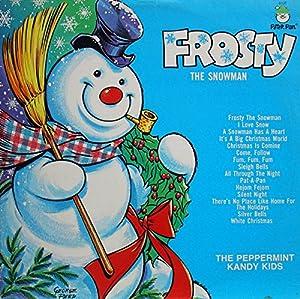 Peppermint Kandy Kids Frosty The Snowman Vinyl Lp Record
