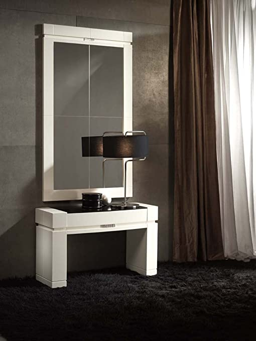 Consolas de madera : Modelo ORLY BAJA Blanca