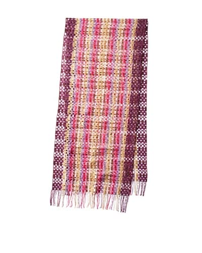 Missoni Women's Chenille Scarf, Pink Multi As You See