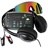 DAVID Delight Pro Mind Alive - Best device for Brain Training, Meditation, Relaxation, Sleep, Mood, Mental Clarity. Increased Academic and Sports Performance (Color: Black)
