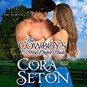 The Cowboy's E-Mail Order Bride (       UNABRIDGED) by Cora Seton Narrated by Amy Rubinate