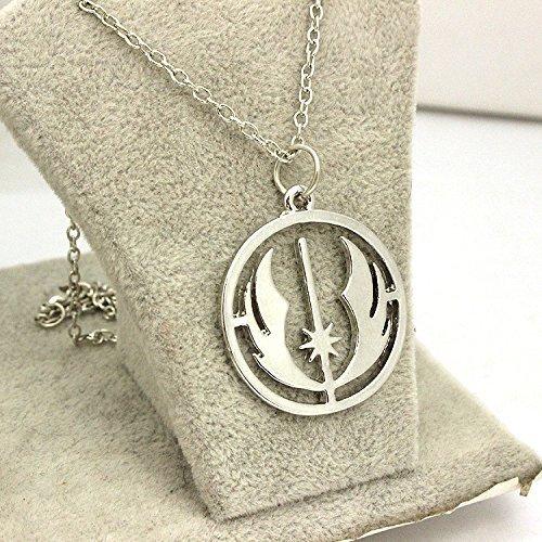 Return Of The Jedi-Collana con ciondolo pendente a forma di catena da uomo/donna, ideale come regalo