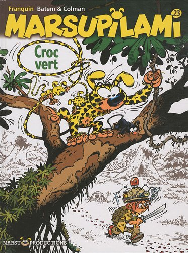 Marsupilami n° 23 Croc vert
