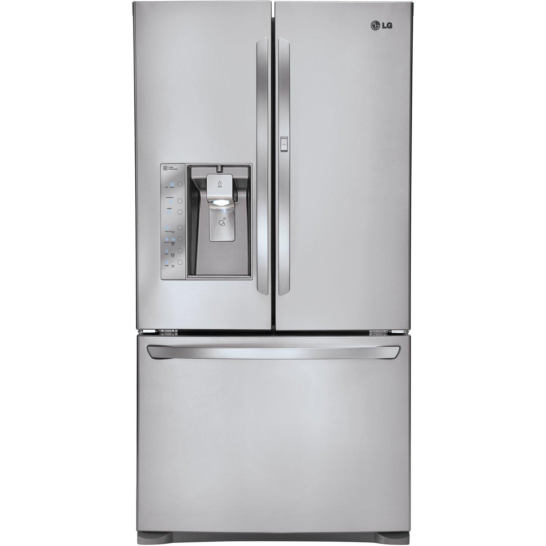 LG LFX31945 Super Capacity 3-Door French Door Refrigerator with Door-in-Door, Stainless Steel