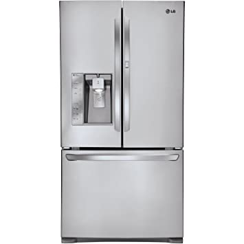lg lfx31945 super capacity 3-door french door refrigerator