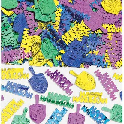 Hanukkah Fun Embossed Confetti 1/2oz