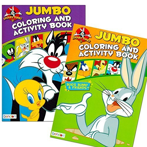 looney-tunes-coloring-book-set-2-books-96-pages
