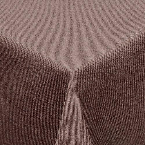 textil-tischdecke-leinen-optik-160x260cm-eckig-mit-fleck-schutz-dunkelbraun-fur-innen-und-aussen-gee