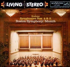 Brahms: Symphonies No. 4 In E Minor, Op. 98 & No. 2 In D Major, Op. 73