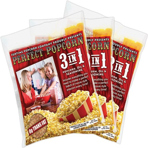 FunTime 3-in-1 8 oz. Perfect Popcorn - Box of 12 (Funtime Popcorn 12 compare prices)