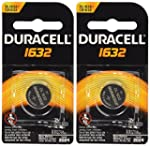 2 Pcs Duracell CR1632 1632 Car Remote...