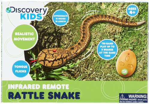 Discovery Kids Infrared Remote Rattlesnake Multi front-470189