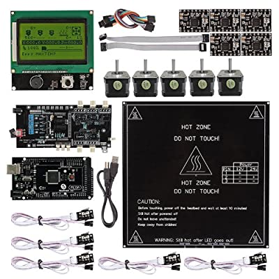 SainSmart Ultimaker 1.5.7 + A4988 + Mega2560 R3 + LCD12864 3D Printer Controller Kit for RepRap Arduino