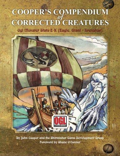 coopers-compendium-of-corrected-creatures-ogl-monster-stats-e-k-eagle-giant-krenshar