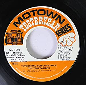 The Temptations Silent Night Everything For Christmas