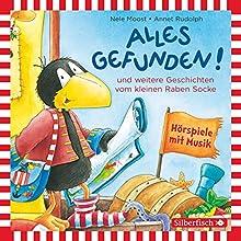 Alles gefunden! und weitere Geschichten vom kleinen Raben Socke (       ungekürzt) von Nele Moost, Annet Rudolph Gesprochen von: Jan Delay