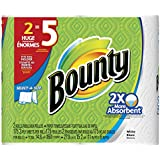 Bounty Select-A-Size Paper Towels, Huge Rolls, White, 12 Count  (Packaging May Vary)