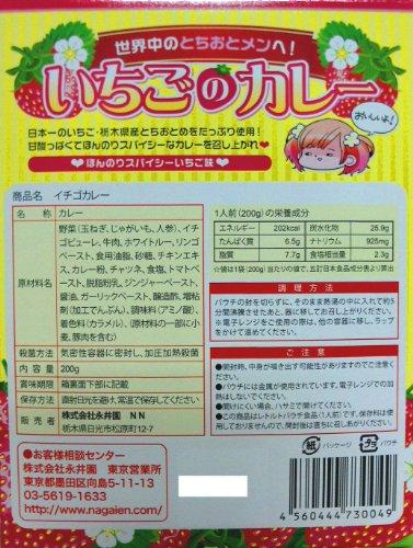 萌えいちごカレー200g (箱入) 【全国こだわりご当地カレー】
