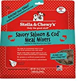 Stella & Chewy's Freeze-Dried Savory Salmon & Cod Meal Mixer for Dogs 3.5 oz