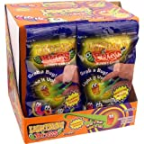 Lightning Bugs Gummy Candy Packs (Tong Included) - 12 Ct. Case