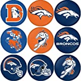 "Denver Broncos NFL Round Badge 1.75"" Badge Magnet at Amazon.com"