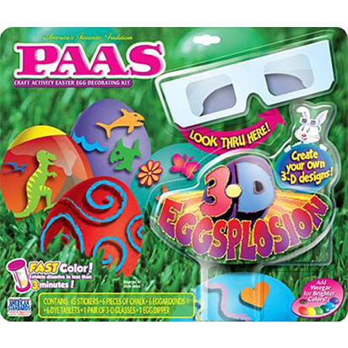 Foil Easter Eggs Paas Paas Craft Activity Easter Egg