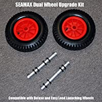 Dual Wheels Upgrade Kit for Seamax Deluxe Launching Wheels and Easy Load Launching Wheels from SEAMAX MARINE
