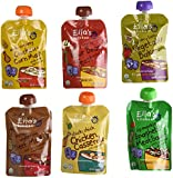 Ella's Kitchen Organic Stage 2 Baby Food 6-flavor Variety Pack (6 Total Pouches)