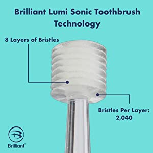 Sonic Toothbrush for travel by Compac, Only uses single AAA Battery, Super-Fine Micro Bristles for Brilliant Smile (Color: Pearl White)
