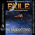 Exile: The Five Worlds Trilogy, Book 1 Audiobook by Al Sarrantonio Narrated by Dave Courvoisier