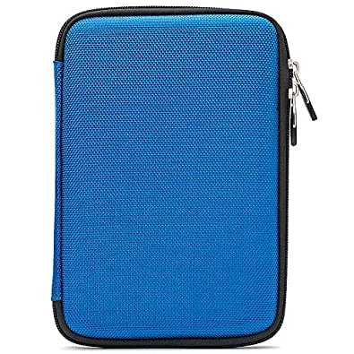 New Thin Hard Case Lightweight for 7 Inch Tablet: NATPC M009S 7 inch / Acer Aspire Iconia Tab A100 7 Inch / CloudNine Neuropad2 Neuropad Tablet / HTY Flyer 7 / Ployer Momo9 7 Inch / ePad / Lenovo A1 7 inch Multi Touch / LB-01 ICE SCREAM SANDWICH Android 4.0 Tablet PC / Cambridge Sciences WAFR (WAFER thin) 7inch / Archos Arnova 7 inch Tablet Archos 7 Home Tablet / Samsung Galaxy Tab 7.0 Plus 7 inch P1010 / NEWEST 7inch 8GB Ainol Novo ELF Tablet / Arnova 7b 7e G2 7 inch Dual Touch Android Tablet / TTfone M009S 7 Inch Google Android Tablet / MiniGadget MG638 (Eva Blue)