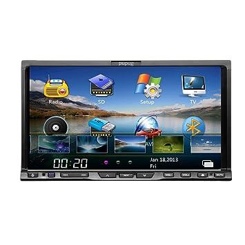 Moniteur de vidšŠo de DVD del Coche de VW con pantalla tactil de Bluetooth de Alta Definiciš®n en el Tablero de 7 pulgadas de coches Autoradio estšŠreo Radio unidad multimšŠdia mp3 centrale IPOD Univers