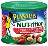 Planters NUT-rition Heart Healthy Mix, 9.75-oz. Cans (Count of 3)
