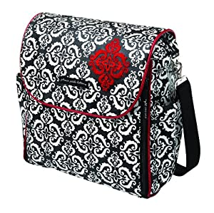 Petunia Pickle Bottom Boxy Backpack Convertible Diaper Bag, Frolicking in Fez