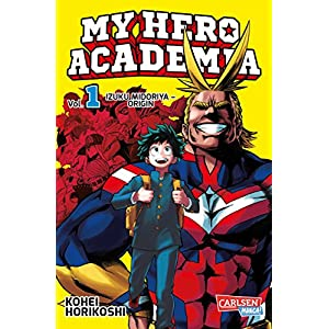 My Hero Academia, Band 1