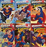 img - for I Can Read Superman - 6 Book Set Escape From the Phantom Zone, Day of Doom, I Am Superman, Superman Versus Bizarro, Superman Versus Mongul, Supman Versus the Silver Banshee book / textbook / text book