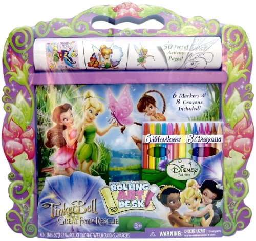 Fairies Rolling Art Desk