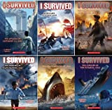 img - for I Survived Series 6 Book Set Includes: (The Sinking of the Titanic, 1912; I Survived the Shark Attacks of 1916; I Survived Hurricane Katrina, 2005; I Survived the Bombing of Pearl Harbor, 1941; I Survived the San Francisco Earthquake, 1906;I Survived the Attacks of September 11th, 2001) book / textbook / text book