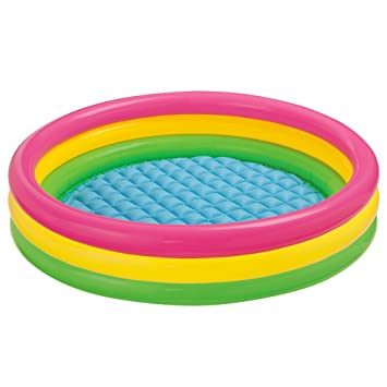 piscine fond gonflable